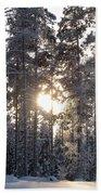 Pines 2 Beach Towel