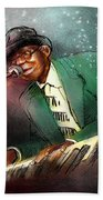 Pinetop Perkins Beach Towel