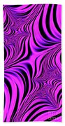 Pink Abyss Beach Towel