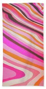 Pink Alleys  Beach Towel