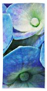 Pink And Blue Hydrangea 5 Beach Towel