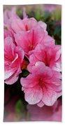 Pink Azaleas Beach Towel