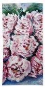 Pink Beauties Beach Towel