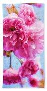 Pink Bellos Beach Towel