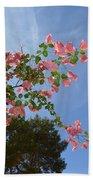 Pink Bougainvillea Beach Towel