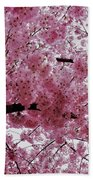 Pink Canopy Beach Towel
