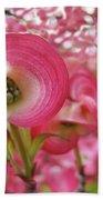 Pink Dogwood Tree Flowers Dogwood Flowers Giclee Art Prints Baslee Troutman Beach Towel