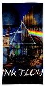 Pink Floyd Montage Beach Towel