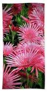 Pink Gerbera Heaven Beach Towel