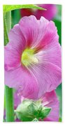 Pink Hibiscus Beach Sheet