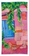 Pink Home Beach Towel