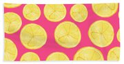 Pink Lemonade Beach Towel