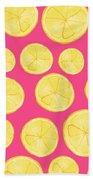 Pink Lemonade Beach Sheet
