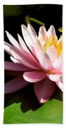 Pink Lily 9 Beach Towel