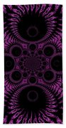 Pink Madness Beach Towel