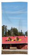 Pink Mountain British Columbia Beach Towel