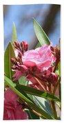 Pink Oleander IIi Beach Towel