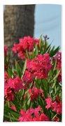 Pink Oleander Beach Sheet