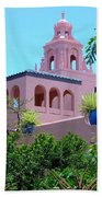 Pink Palace Honolulu Beach Towel
