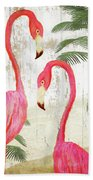 Pink Paradise Beach Towel
