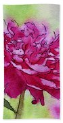 Pink Ruffles Beach Towel
