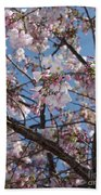 Pink Spring Blossoms Beach Towel
