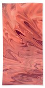 Pink Surge Beach Towel