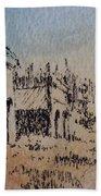 Pioneer Ghost Town Montana Beach Towel