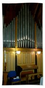 Pipe Organ Of Old Beach Towel