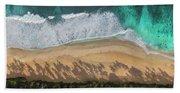 Pipeline Palms Beach Towel