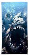 Piranha 3d Beach Sheet