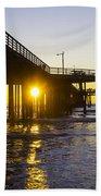 Pismo Beach Pier  Beach Towel