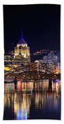 Pittsburgh 1  Beach Towel by Emmanuel Panagiotakis
