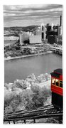 Pittsburgh From The Incline Beach Towel