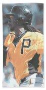 Pittsburgh Pirates Andrew Mccutchen Beach Towel
