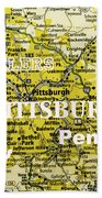 Pittsburgh Sports Beach Towel