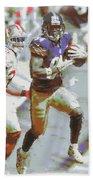 Pittsburgh Steelers Antonio Brown 3 Beach Towel