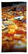 Pizza Pie For The Eye Beach Towel