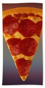 Pizza Slice  Beach Towel