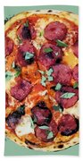 Pizza - The Corleone Special Beach Towel