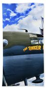 Plane - Curtiss C-46 Commando Beach Towel