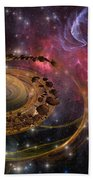 Planet Formation Beach Towel