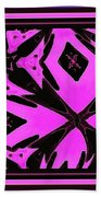 Planet Of The Aliens Abstract Beach Towel
