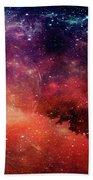 Planetary Soul Violet Beach Towel