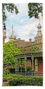 Plant Hall University Of Tampa Beach Towel