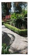 Plantation Garden Beach Towel