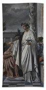 Plato's Symposium Beach Towel
