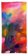 Play With Colours Beach Towel