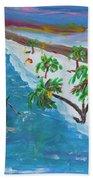 Playa Secreta II Beach Towel