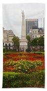 Plaza De Mayo In Buenos Aires-argentina  Beach Towel